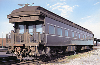 NYC 3 private railcar when Adlai Stevenson chartered it for presidential campaign